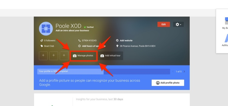Photo Manager for Google+
