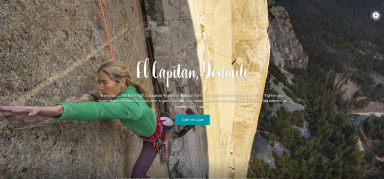 How they made the tour up El Capitan in Yosemite